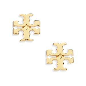 Tory Burch Gold Stud Earrings